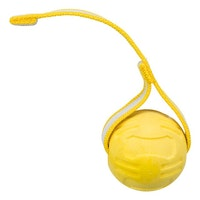 Trixie, sporting boll m. strap, 6/20 cm