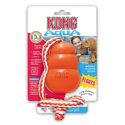 Kong aqua, m. rep, 10cm, orange, large