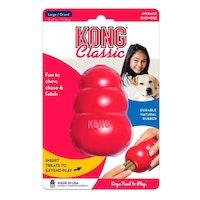 Kong classic, 10cm, röd, Large