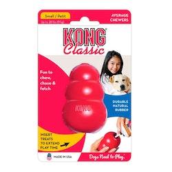 Kong classic, 6,5cm, röd, Small