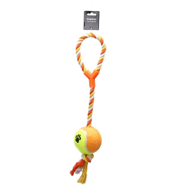 Dogman, XL, tennisboll m. rep, 9/53cm