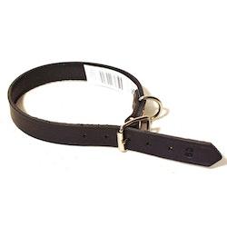 Alac, läderhalsband, brun