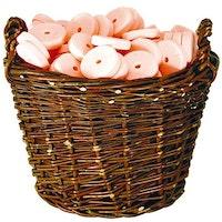Saltsten, rosa, 2st