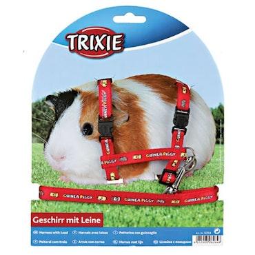 Trixie, marsvinsele m. motiv, röd