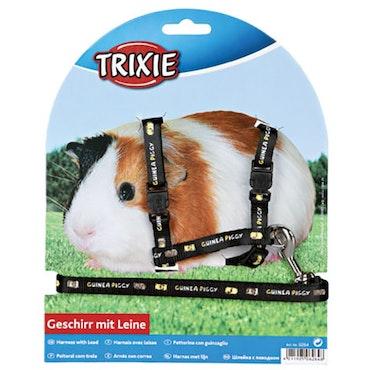 Trixie, marsvinsele m. motiv, svart