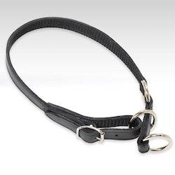 Jokke, halsband simplex, svart, 20mm/65cm