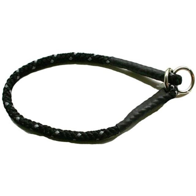 PetNation, dressyrstryphalsband m. reflex, svart