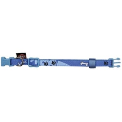 Trixie, hundhalsband, modern art woof, XXS-XS, blue