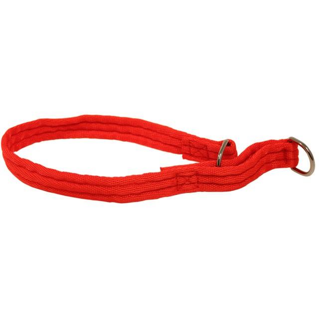 Limex, halvstryp valkband, röd