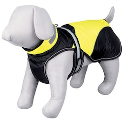 Trixie, safety flash coat, 55cm, svart/gul