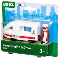 Brio Järnväg, 33508, persontåg m. förare