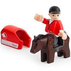 Brio järnväg, 33793, häst & ryttare