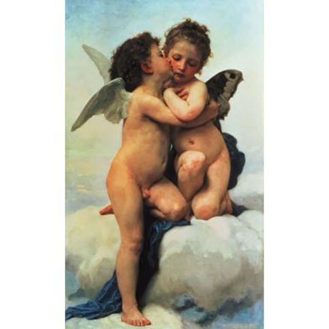 Clementoni, Museum Collection, bouguereau, Il primo bacio, 260bitar
