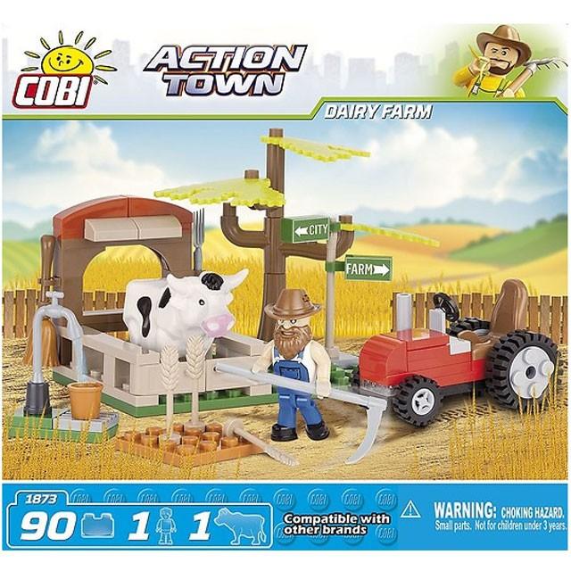 Cobi, Action Town, mjölkgård
