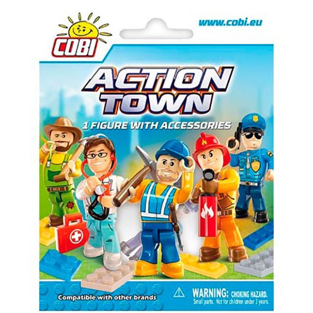 Cobi, Action Town, samlarfigur