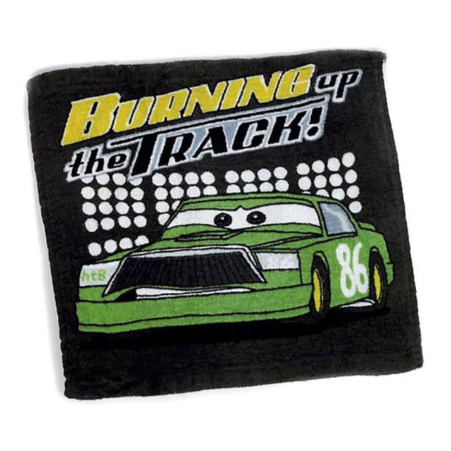 Disney Cars, burning up the tracks, magisk tvättlapp