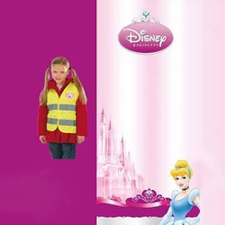 Disney Prinsessor, reflexväst, one size