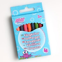 Junior Designer, färgkritor 8st