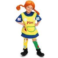 Pippi Långstrump, maskeradkläder, strl 120-130