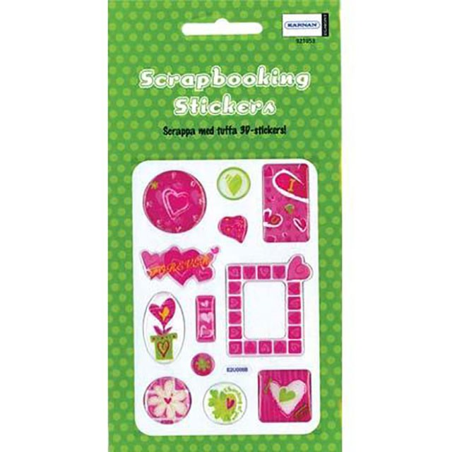 Scrapbooking stickers