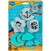 Simba, Jake and The Never Land Pirates, glow in the dark, 30st