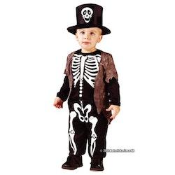 Skelettdräkt, Stl 1,5-3 år