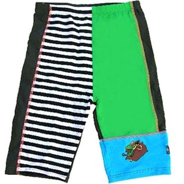 Swimpy, Pippi Långstrump, uv-shorts, grön, strl 80-92