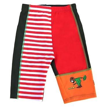 Swimpy, Pippi Långstrump, uv-shorts, röd, strl 80-92