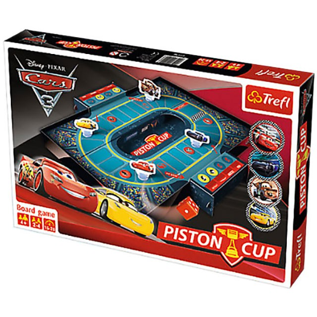 Trefl, Cars 3, piston cup