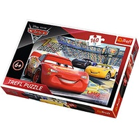 Trefl, Pussel, Cars 3, 160 bitar