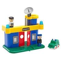 Viking Toys, polisstation m. bil & figurer