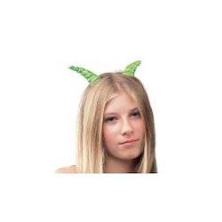 Gröna glansiga horn