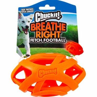 CHUCKIT, breathe right fetch football