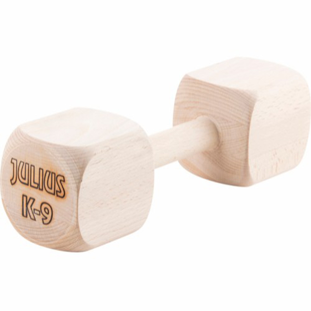 Julius K9, apportbock i trä