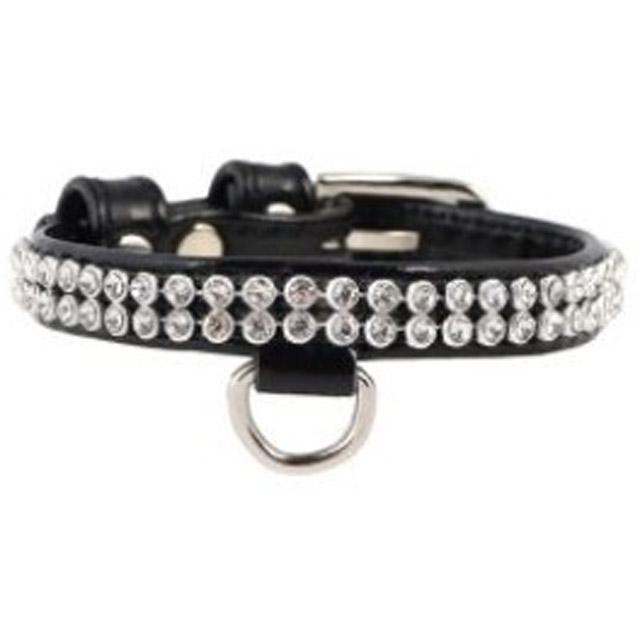 Dogman, halsband, collar brilliance, 9mm/19-25cm, svart