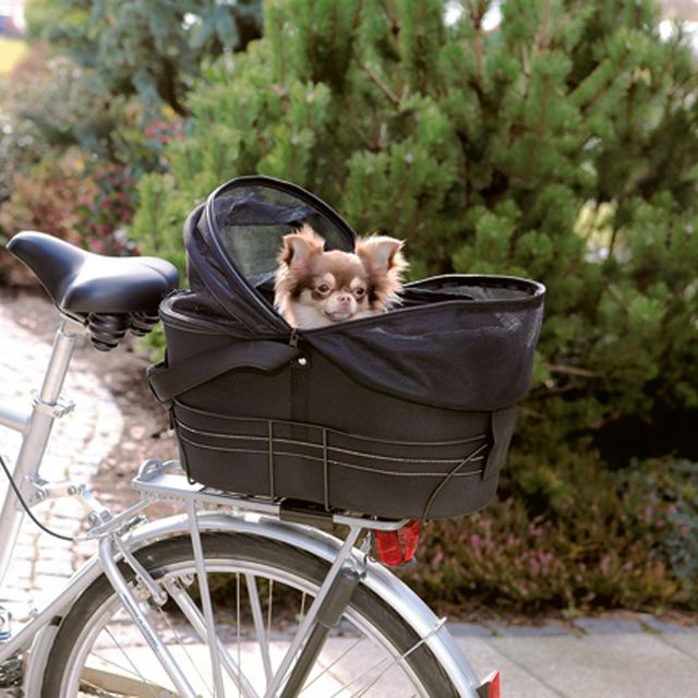 Trixie, cykelkorg, 48×29×42cm, svart