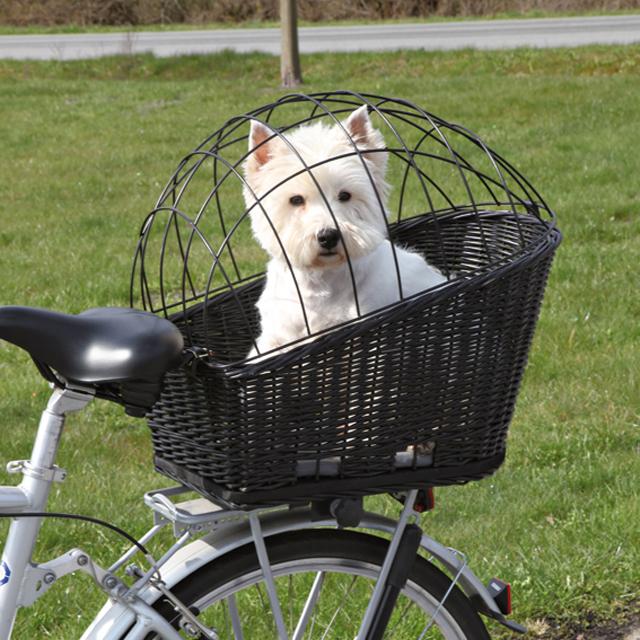 Trixie, cykelkorg, 35x49x55cm, svart