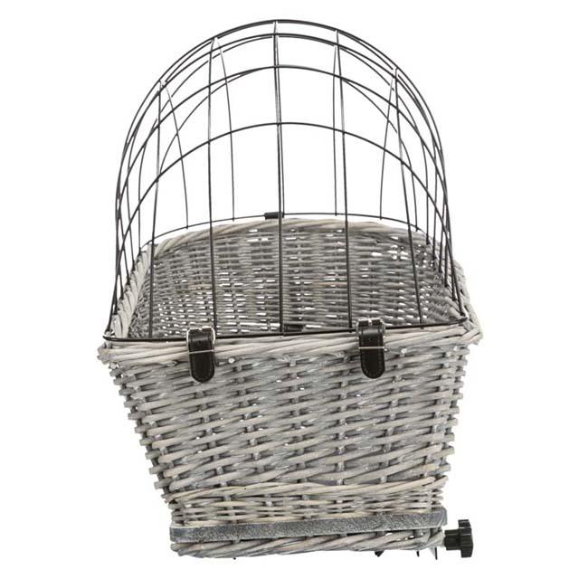 Trixie, cykelkorg, 35x49x55cm, grå
