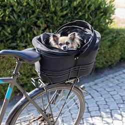 Trixie, cykelkorg för smala pakethållare, 26x42x48cm, svart
