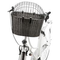 Trixie, cykelkorg, 44×34×41cm, antracit
