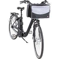 Trixie, cykelkorg, 41x26x26cm, svart/grå