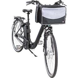 Trixie, cykelkorg, 41×26×26cm, svart/grå