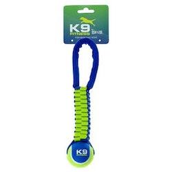 ZS K9, twist tug, tennisboll, 31cm