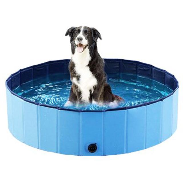 Ozami, hundpool, blå, 120x30cm