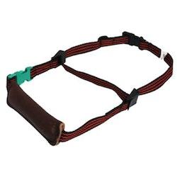 Alac, sökhalsband, bringel, 35-65cm