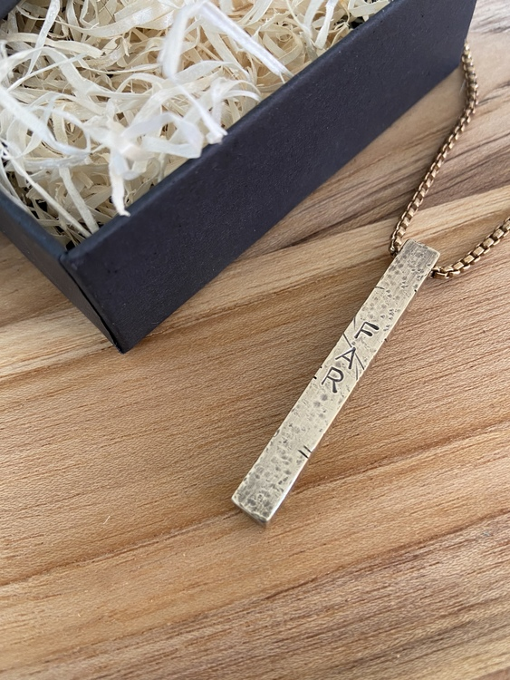 Bolt Messing - Personlig Gravering