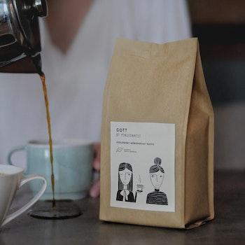 Ekologiskt kaffe  - 4 x 250g