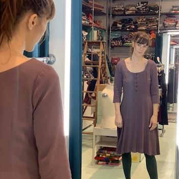 Viscosklänning stl S