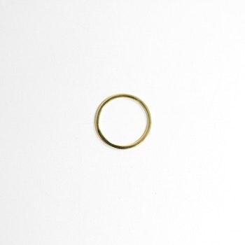 Guld twilly-ring