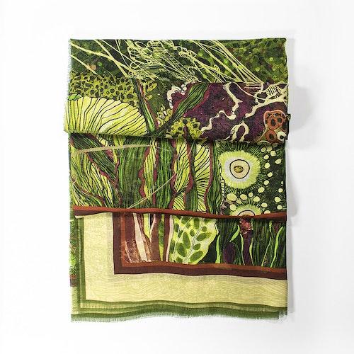 Oceanum Moss modal- och sidenscarf